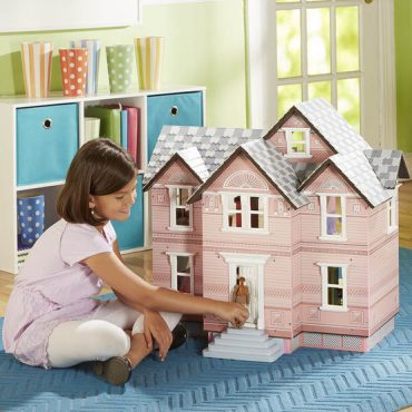 Classic Victorian Dollhouse 6 Years Old