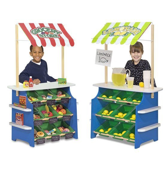 GROCERY STALL AND LEMONADE STAND