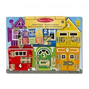 Melissa & Doug Latches Board (2+ years old)
