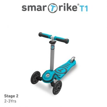 Smart Trike Scooter T1 Blue 15 Months To 5 Years Old