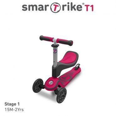 Smart Trike Scooter T1 Pink