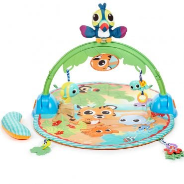 Little Tikes Baby Good Vibrations Deluxe Activity Gym Toy 2 Months