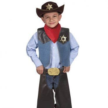 Cowboy Costume (3-6 years old)