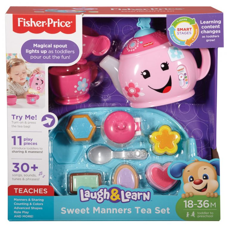 Fisher Price Laugh & Learn Toddler Tea Set