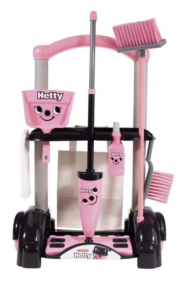 Casdon Hetty Cleaning Trolly (3+ Years Old)