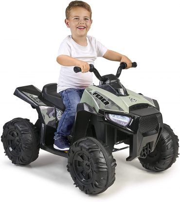 Quad Boxer, Electric Vehicle with Battery 12 V